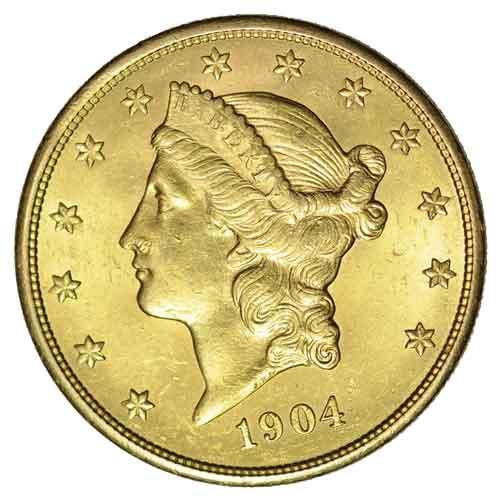 Dollars Liberty Kopf Usa Goldmünzen Goldankauf Goldpreis